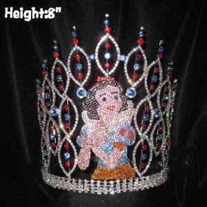 Crystal Snow White Pageant Coronas Coronas de Reina