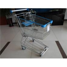 Asiatische Art Metall Einkaufswagen