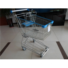 Asian Style Metal Shopping Trolley