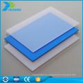 Fabricante de hoja de policarbonato de mayor transparencia para la venta de costes