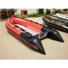 Ce 360 caoutchouc PVC aluminium plancher gonflable bateau