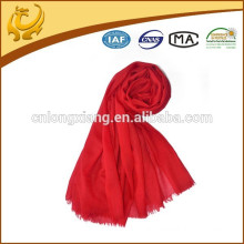 Super Soft Handing High Quality 100% Wool Ladies Fashion Scarves With Tassel