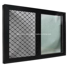 Doble Acristalamiento Ventanas Corredizas de Aluminio / Aluminio