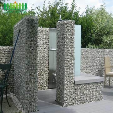 Rust-Proof Galfan Wire Welded Gabion Basket Stones