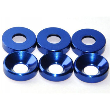 Custom Aluminum Shoulder Screw Cup Washer