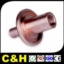 Latón / cobre CNC mecanizado piezas de torneado para la máquina automática
