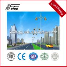Altura del poste de la luz de la calle