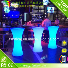PE Plastic Colorful LED Furniture pour discothèque