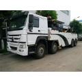 HOWO 8x4 Road-block Caminhão de Remoção