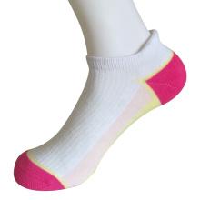 Half Cushion Poly Fashion No Show Tab Socks (JMPN07)