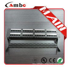 Made In China Cat5e/cat6 with jacks 24/48 Best Price 1u data patch panels