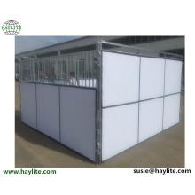 La parada temporal del caballo del panel del PVC utilizó el establo del caballo para la venta