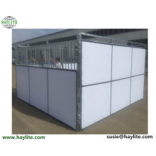 Temporary PVC panel horse stall used horse stable for sale