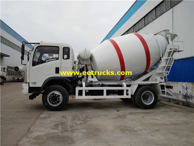 Dongfeng 6T Concrete Truck Mixers