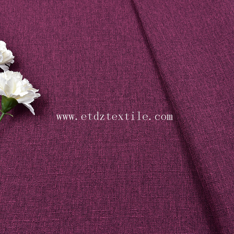 Linen Woven Fabric for Sofa