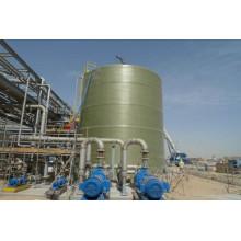 Стеклопластик frp или вертикальный или горизонтальный резервуар