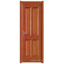 Puerta interior de madera (HDB-011)