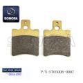 YAMAHA AEROX / JOG Vorderradbremsbelag 40X54X7mm (P / N: ST05008-0007) Top Qualität