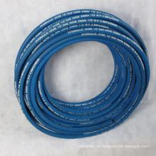 Faser geflochtener weicher Gummischlauch1TE R6