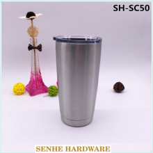 14 oz 304 aço inoxidável vacuum porcelana caneca