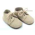 Genuine Leather Soft Sole Infant Boy Oxford Shoes
