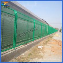 Valla de malla de alambre recubierta de PVC Anping (CT-3)
