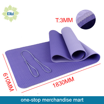 Waterproof square yoga mat with private label