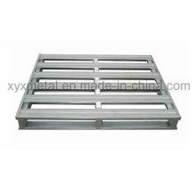 Plataforma de aço reciclável Pallet de metal