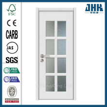 Porte in legno JHK Factory Glass con vetrate