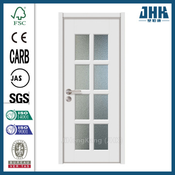 JHK Factory Glass Wooden Doors With Stained Glass