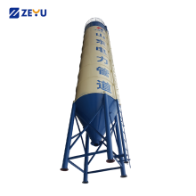 Mini cement bolted silo price for concrete mixer