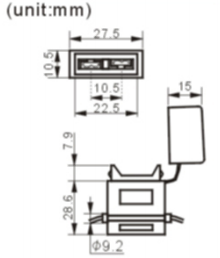 FH-619-1 fuse holder