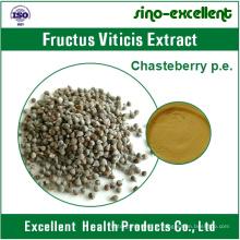 Extrait de fructus viticis, extrait de fruit d'arbre chaste