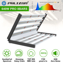 Dimmable 8 Bars Pliable Led Grow Light 640W