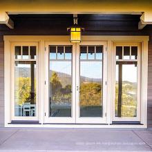 Marco de puerta abatible más barato de aluminio extruido