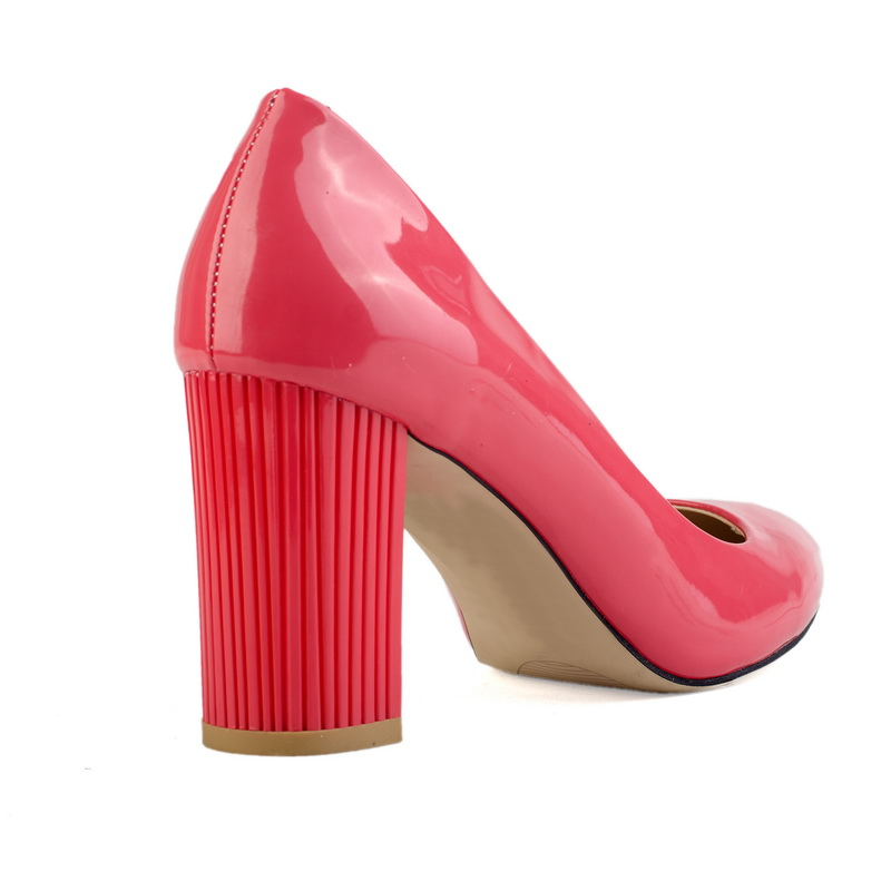 baby pink color stiletto shoe for girls