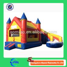 Castelo de salto barato inflável combo bouncer