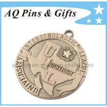 Medalla de Uil personalizada sin color