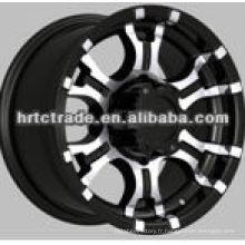2013 roue en alliage de chrome sport noir nouvelle mode pour toyota