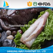 Produtos marinhos fantásticos com peixes do tamboril
