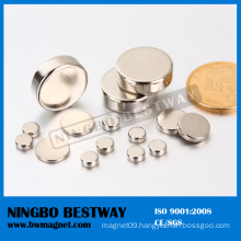 Znic NdFeB Cylinder Magnet with Top Quality