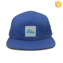 Wholesale custom fashion men 5 panel hat