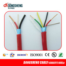 PVC 4 Core Fire Alarm Cable with Red Lzsh PVC