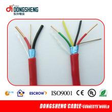 PVC 4-х проводной пожарный сигнализационный кабель с красным PVC Lzsh