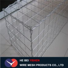 River protection galvanized  gabion mesh box