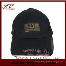 Haute qualité militaire de Flat Top blanc casquette chapeau