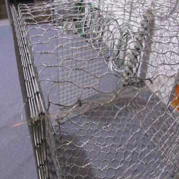 Corrosion Resistant Galvanized Gabion Weaving Wire Mesh