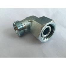 Type de morsure Adaptateur hydraulique à angle droit à 90 degrés Adaptateur (DIN)