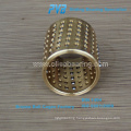 Ball Cage for stripper, blue POM brass ball retainer, Precision Mini Brass Ball Bearing