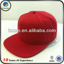 plain red caps snapback